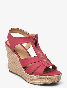 BERKLEY WEDGE - espadrilles met sleehak - lt bry sbt