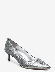 SARA FLEX KITTEN PUMP - classic pumps - silver