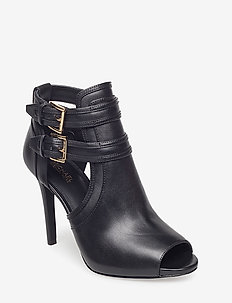 29508d94 Michael Kors Shoes. Georgie trainer 1400 kr. 37. BLAZE OPEN TOE BOOTIE -  BLACK