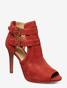 703635f4 Michael Kors Shoes. Dixon bootie 1700 kr. 15. BLAZE OPEN TOE BOOTIE - RUST