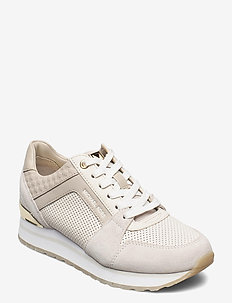 BILLIE TRAINER - baskets basses - cream