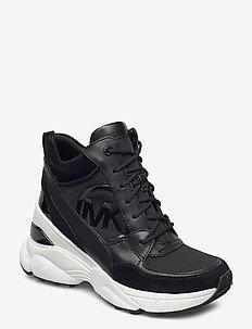 SPENCER TRAINER - high top sneakers - black