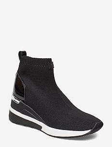SKYLER BOOTIE - hoge sneakers - black