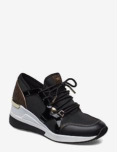 LIV TRAINER - lave sneakers - black