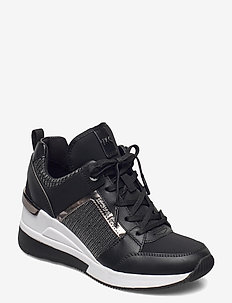 GEORGIE TRAINER - hoge sneakers - black