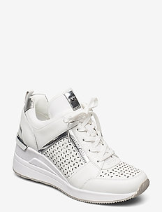 GEORGIE TRAINER - hoge sneakers - optic white