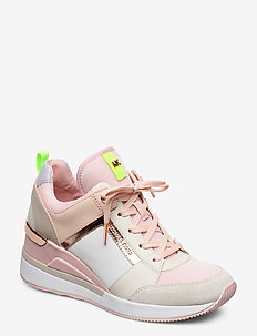 GEORGIE TRAINER - CREAM MULTI