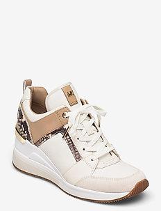 GEORGIE TRAINER - hoge sneakers - cream multi