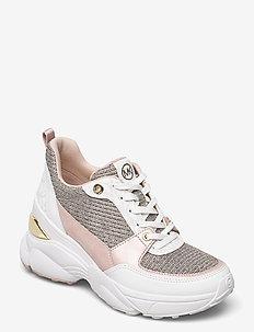 MICKEY TRAINER - chunky sneakers - wht rainbow