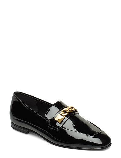 Galloway Loafer Loafers Flache Schuhe Schwarz MICHAEL KORS SHOES