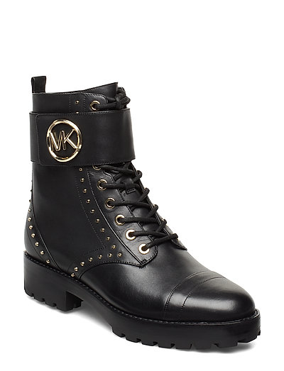 Tatum Ankle Boot Shoes Boots Ankle Boots Ankle Boots Flat Heel Schwarz MICHAEL KORS SHOES