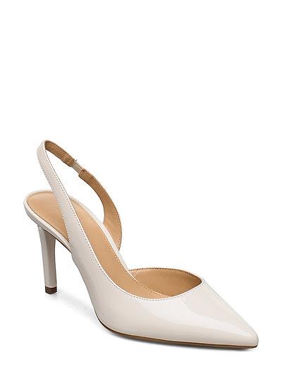 Lucille Flex Sling Shoes Heels Pumps Sling Backs Creme MICHAEL KORS SHOES