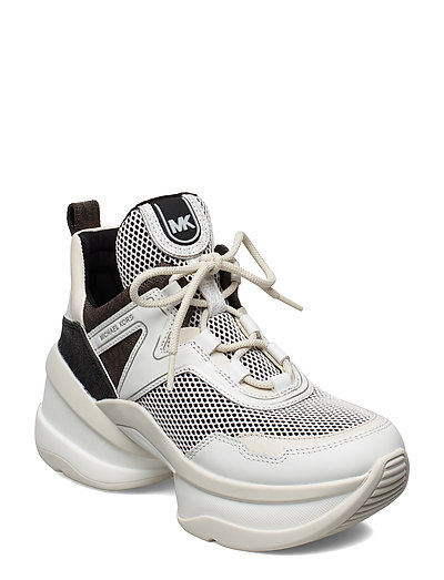 Olympia Trainer Hohe Sneaker Weiß MICHAEL KORS SHOES