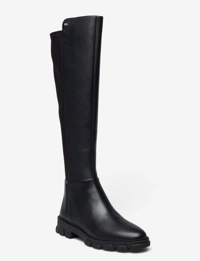 RIDLEY BOOT - lange laarzen - black