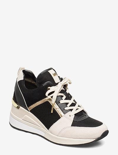 GEORGIE TRAINER - lage sneakers - lt crm multi