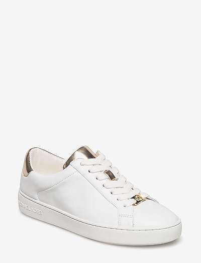IRVING LACE UP - lage sneakers - opt/plgold
