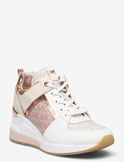 GEORGIE TRAINER - chunky sneakers - natural mlt