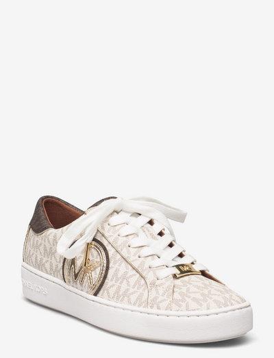 KEATON SNEAKER - lage sneakers - vanil/brwn