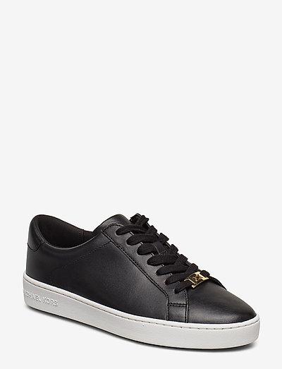 IRVING LACE UP - sneakers med lav ankel - black