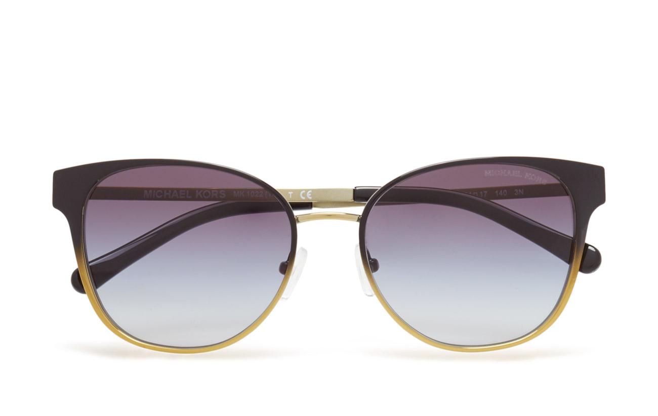 c1f933b550b Tia (Black Gradient Pale Gold-tone) (£141) - Michael Kors Sunglasses ...