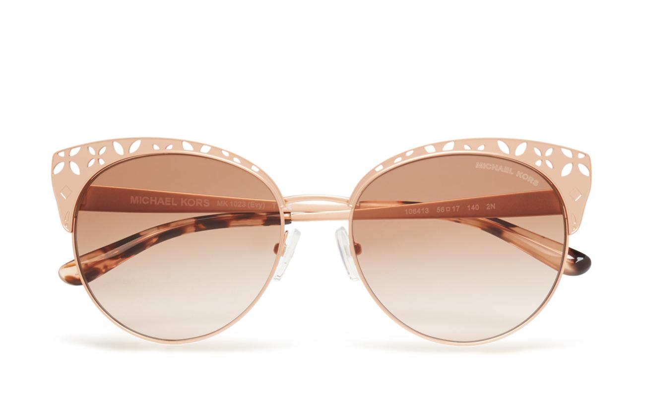 629e7ba7b66 Evy (Satin Rose Gold-tone) (£187) - Michael Kors Sunglasses ...