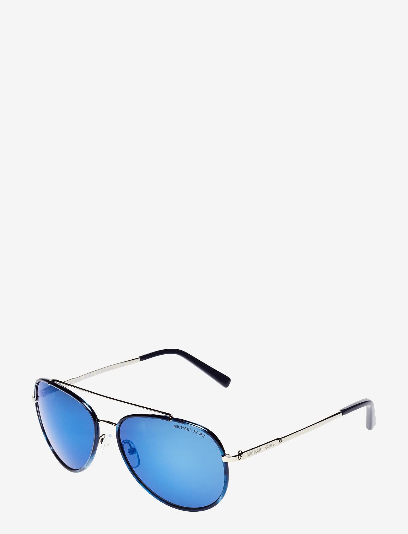 Michael Kors Sunglasses - Aviator - okulary przeciwsłoneczne aviator - navy/silver-tone - 1