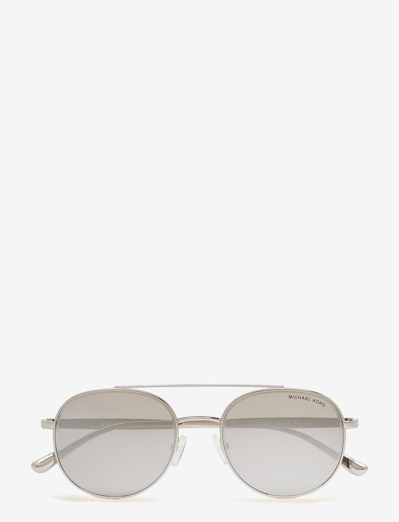 Michael Kors Sunglasses - Aviator - okulary przeciwsłoneczne aviator - silver - 0