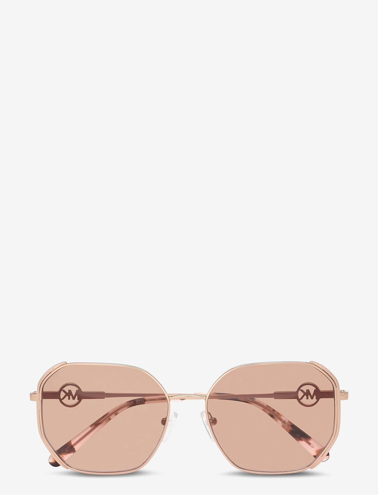 Michael Kors Sunglasses - SANTORINI - rechthoekig model - brown pink gradient - 0