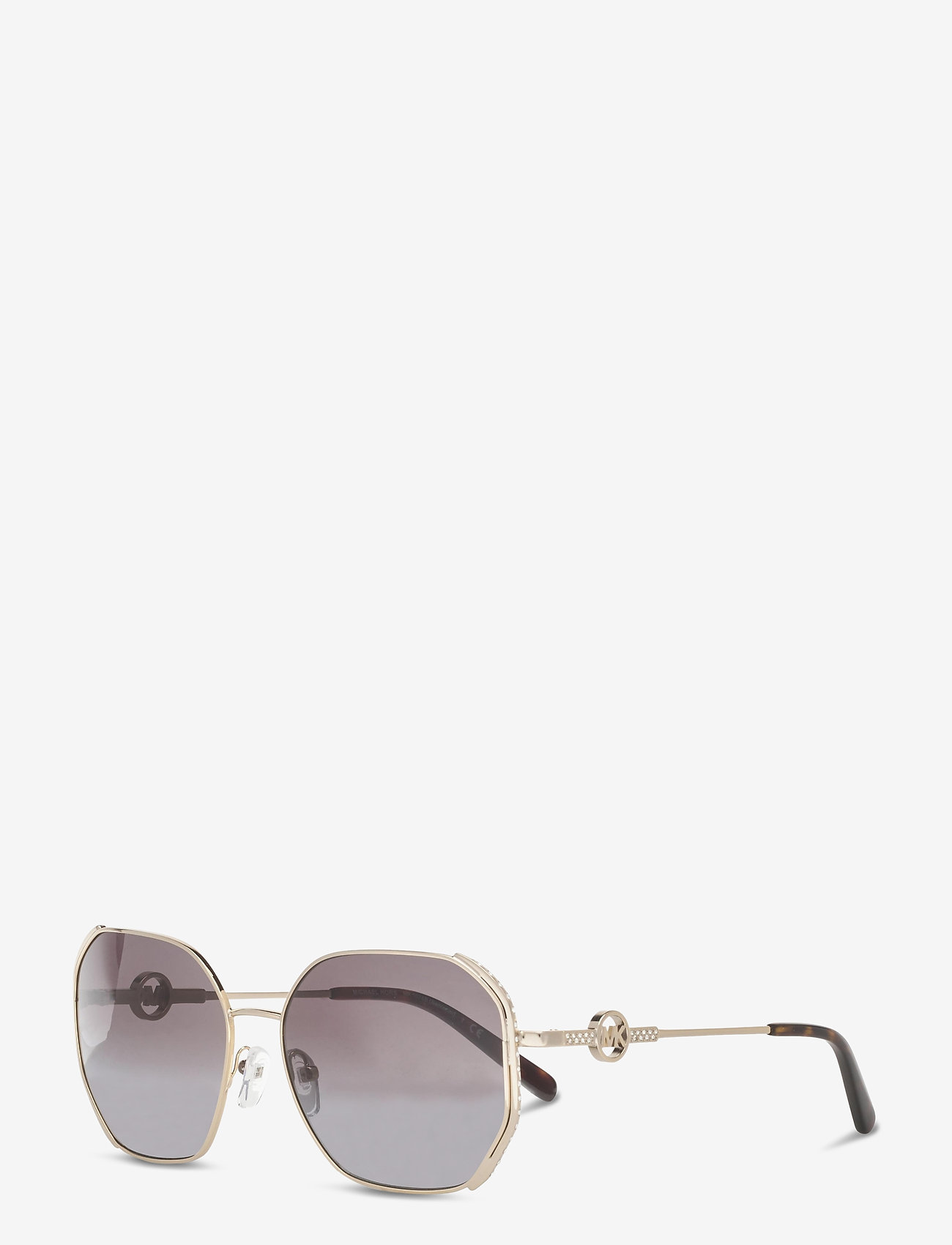 Michael Kors Sunglasses - SANTORINI - rechthoekig model - dark grey gradient - 1