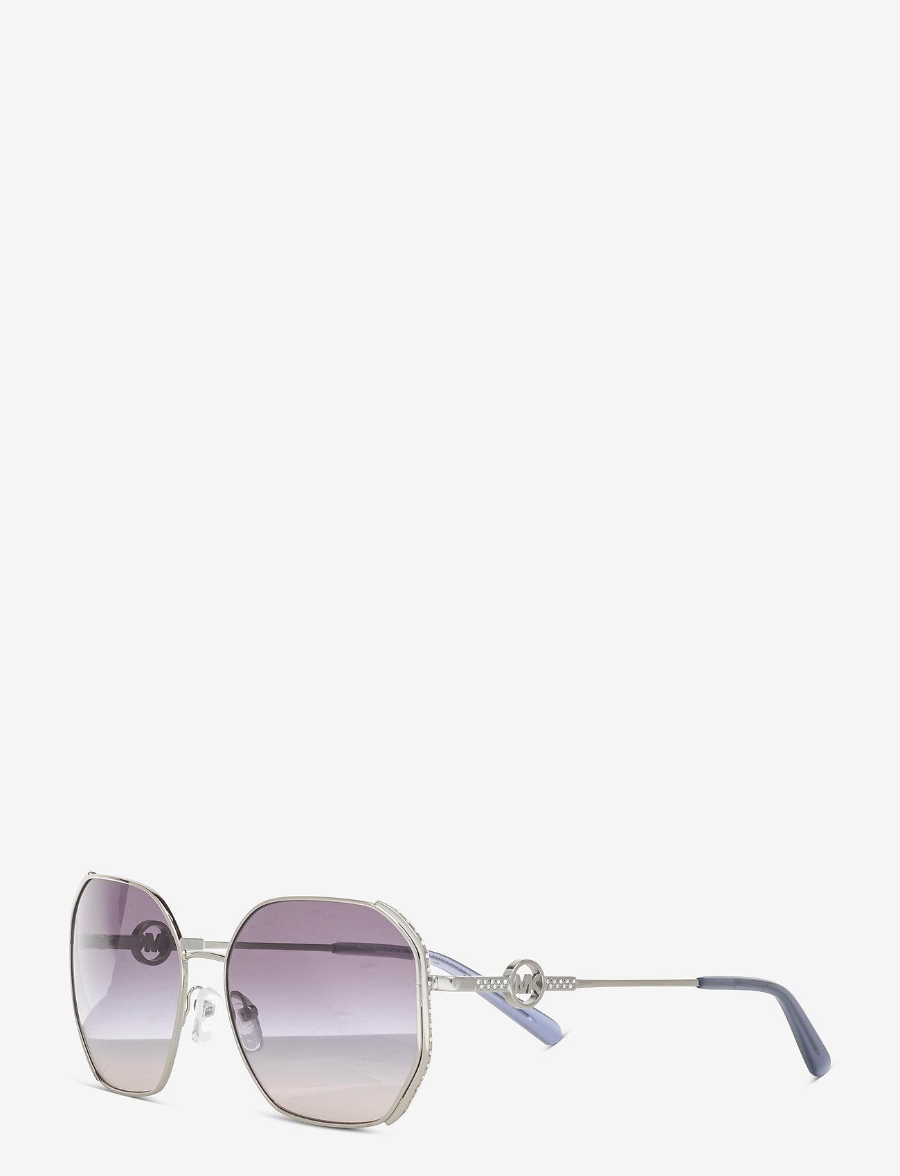 Michael Kors Sunglasses - SANTORINI - rechthoekig model - navy pink gradient - 1