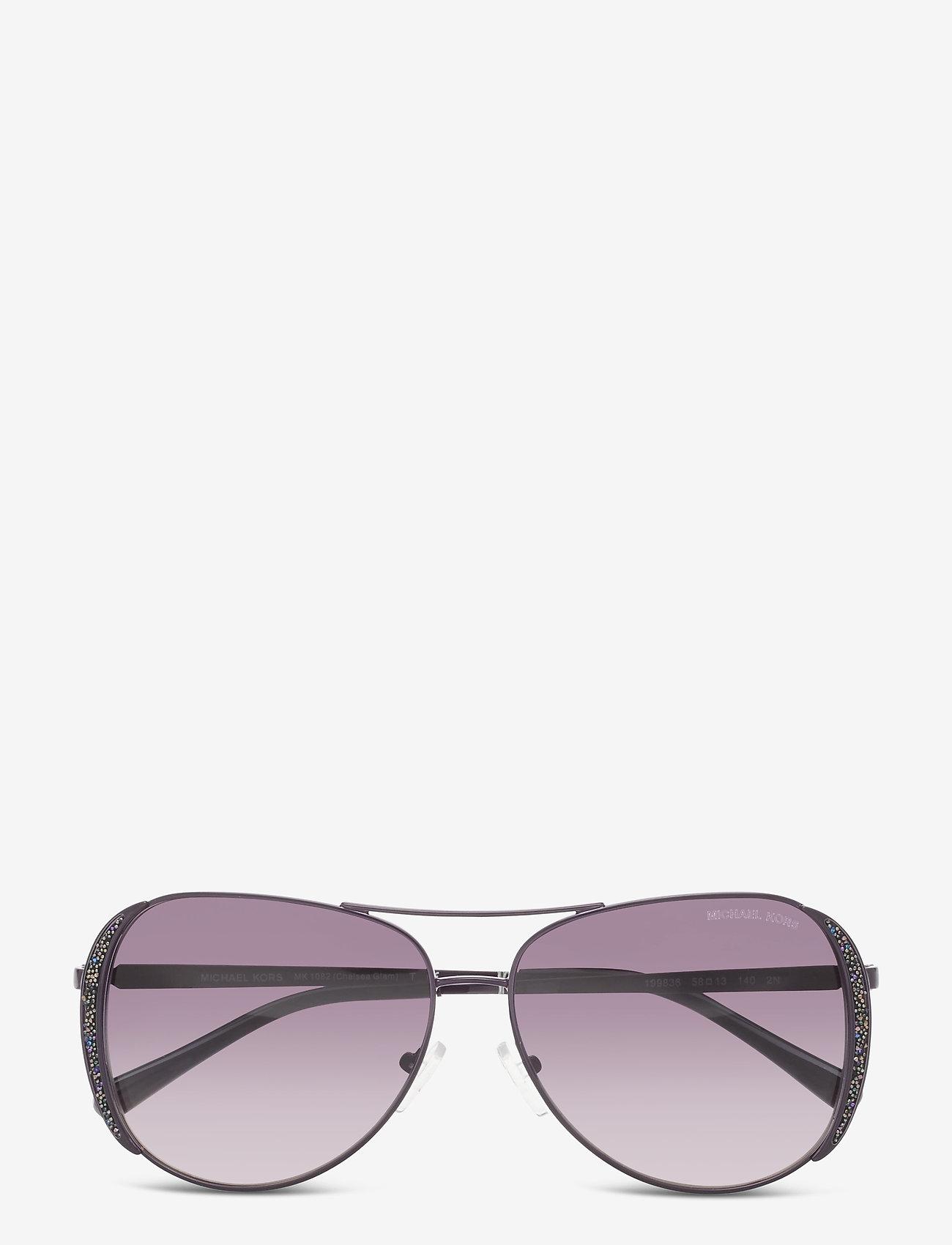 Michael Kors Sunglasses - CHELSEA GLAM - pilot - iris clear gradient - 0