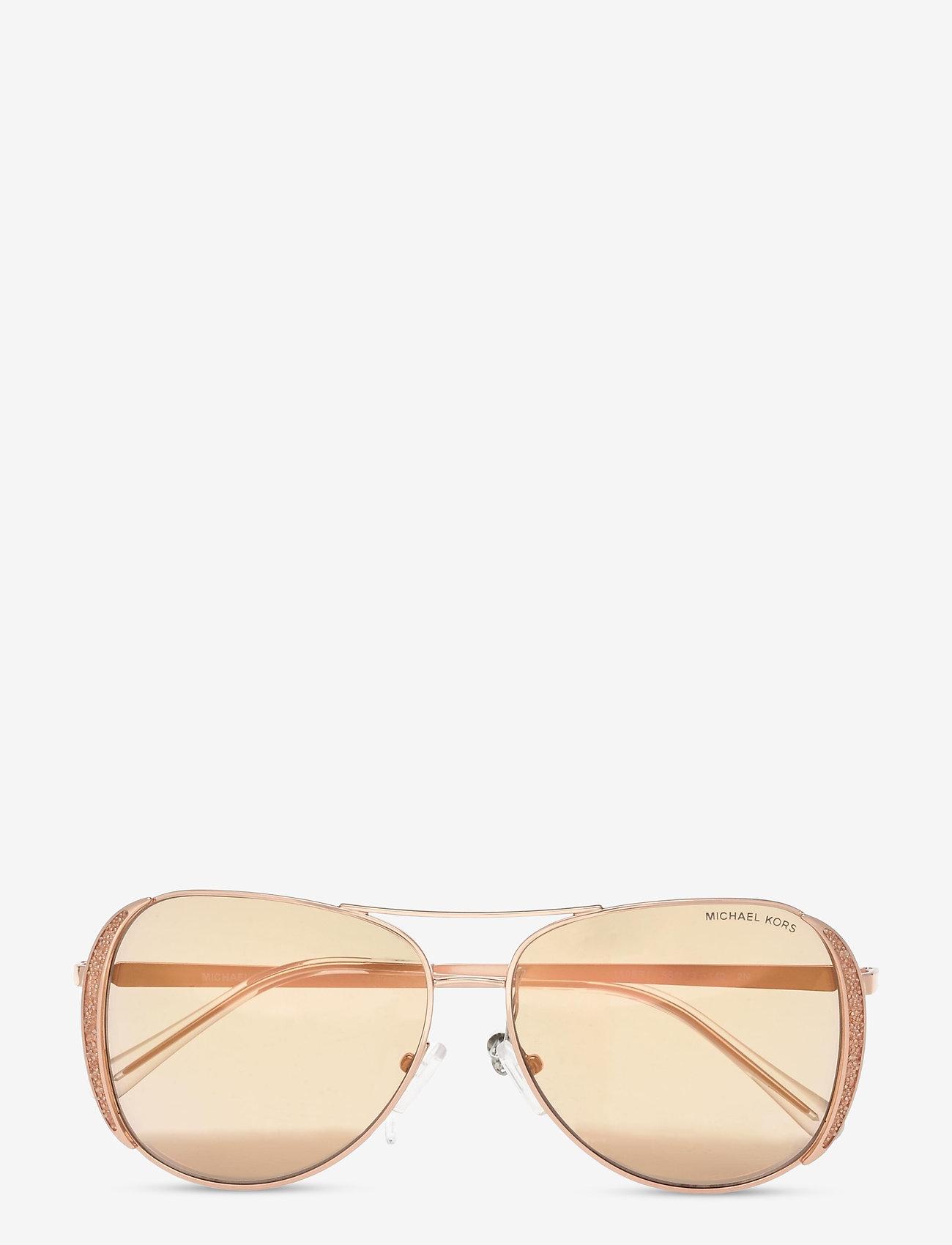 Michael Kors Sunglasses - CHELSEA GLAM - pilot - rose gold flash - 0