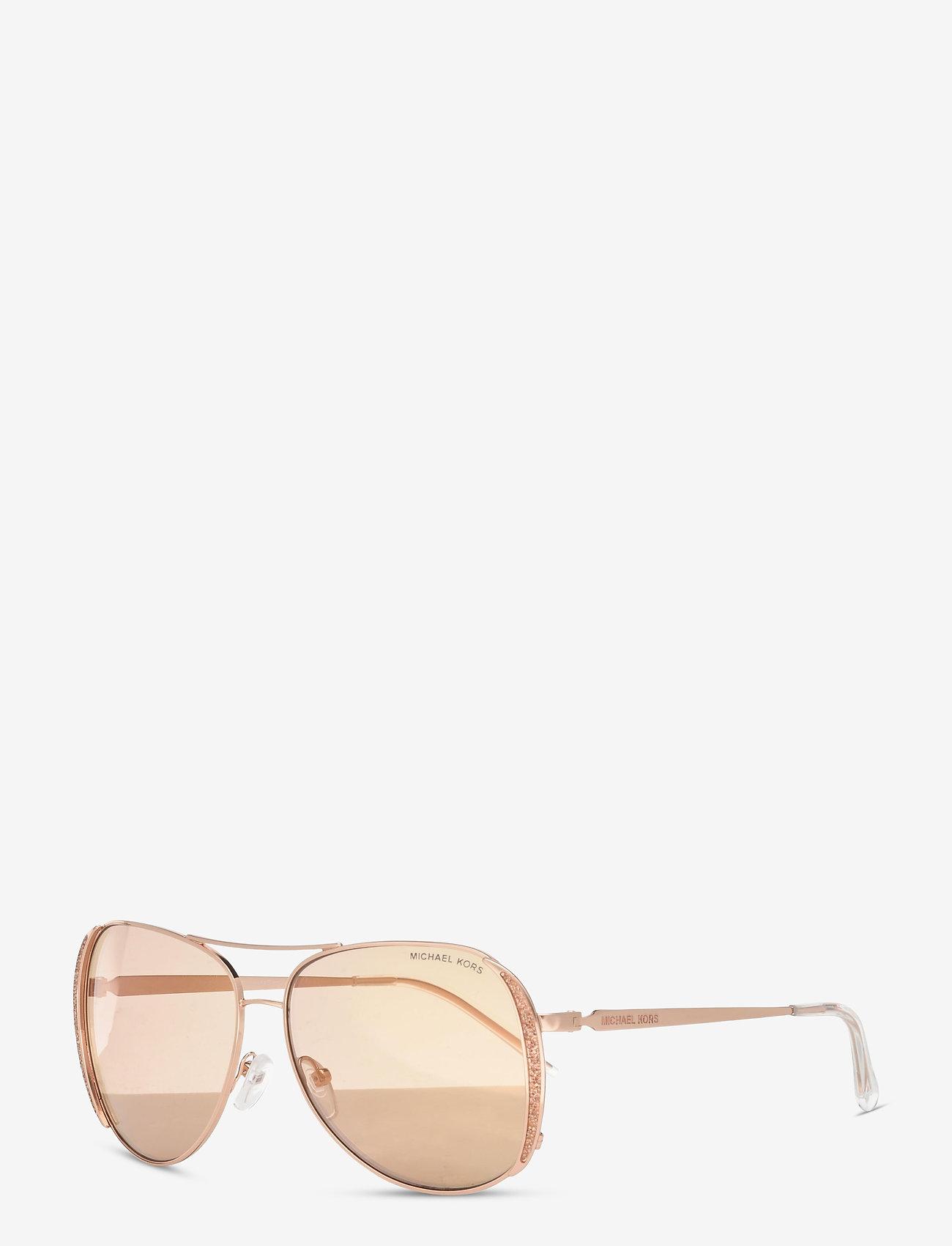 Michael Kors Sunglasses - CHELSEA GLAM - pilot - rose gold flash - 1