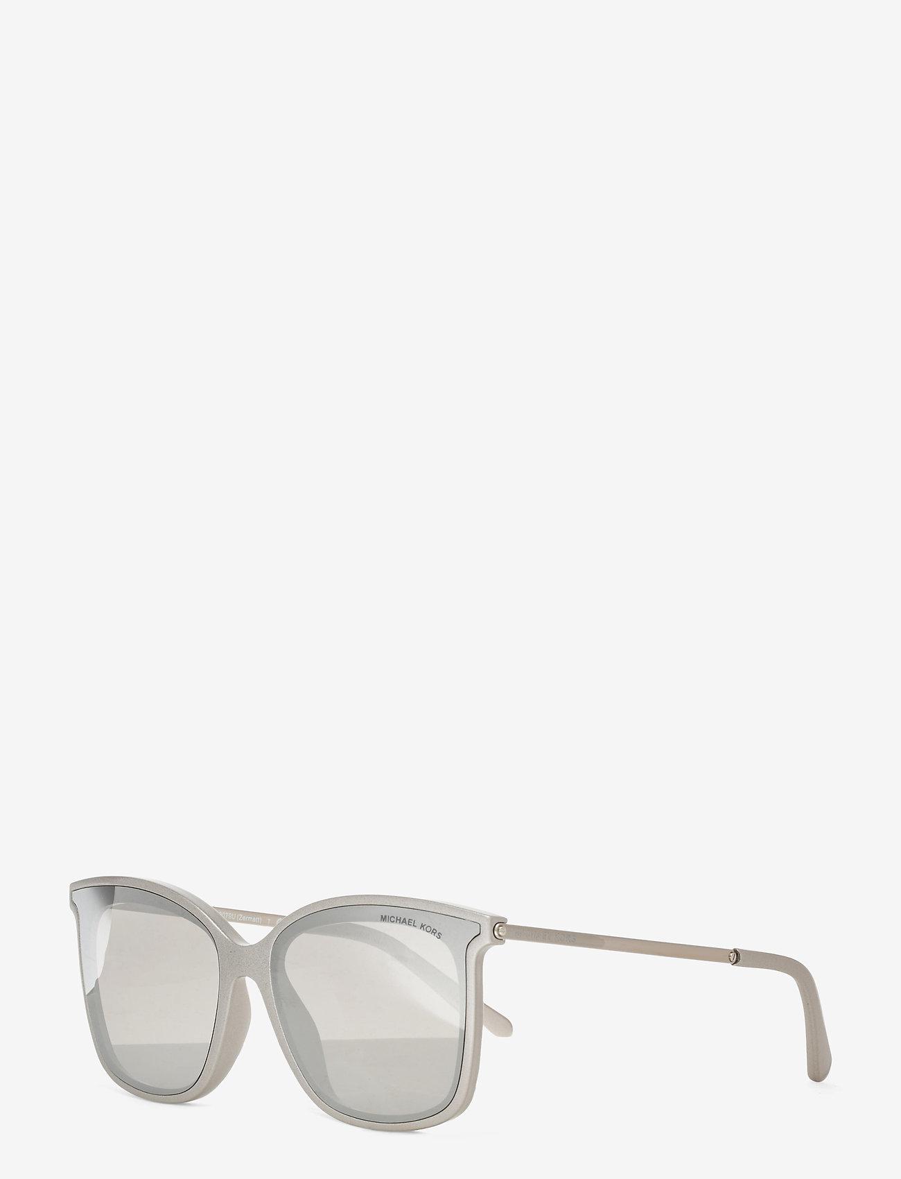 Michael Kors Sunglasses - ZERMATT - wayfarer - silver mirror - 1