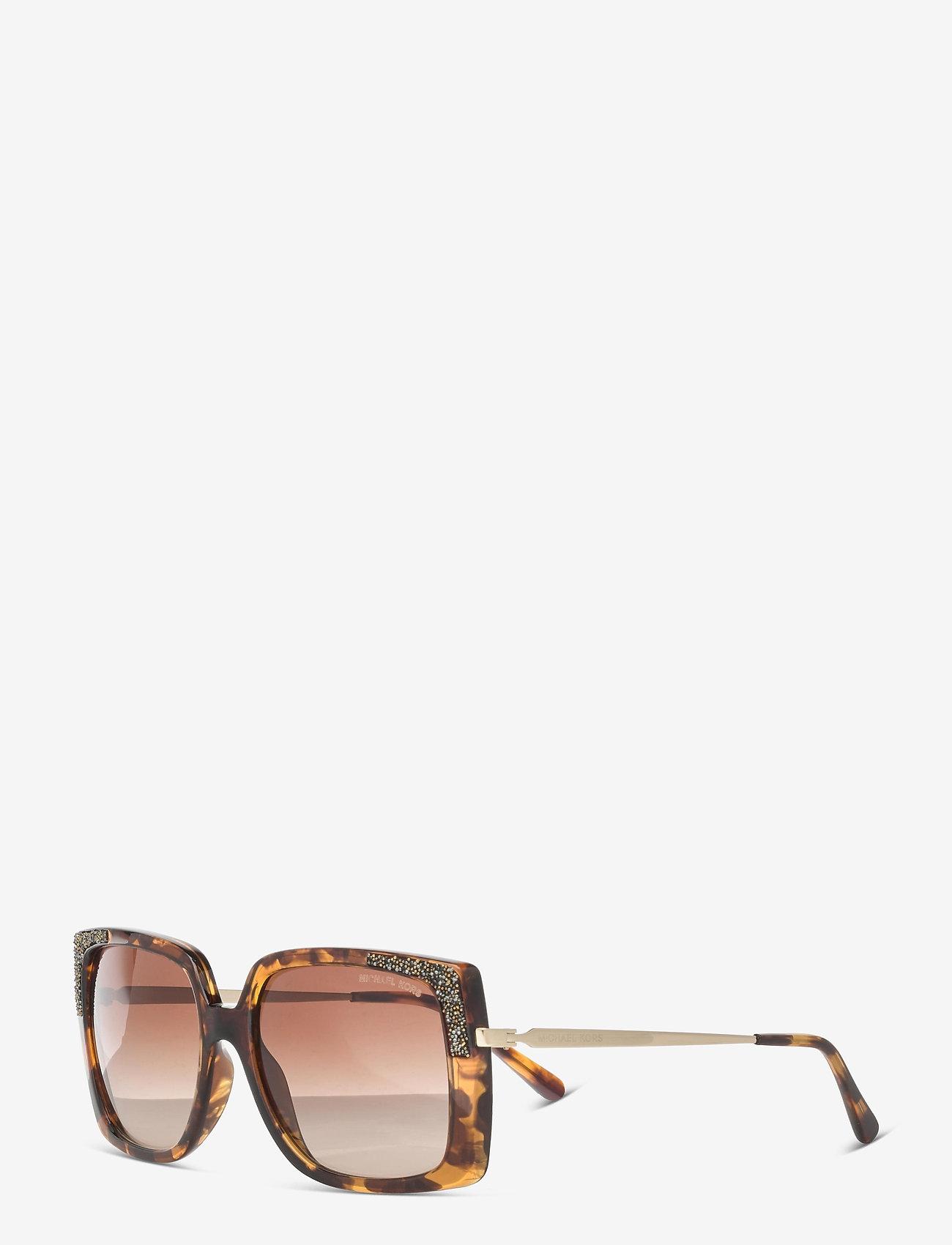 Michael Kors Sunglasses - ROCHELLE - rechthoekig model - brown gradient - 1