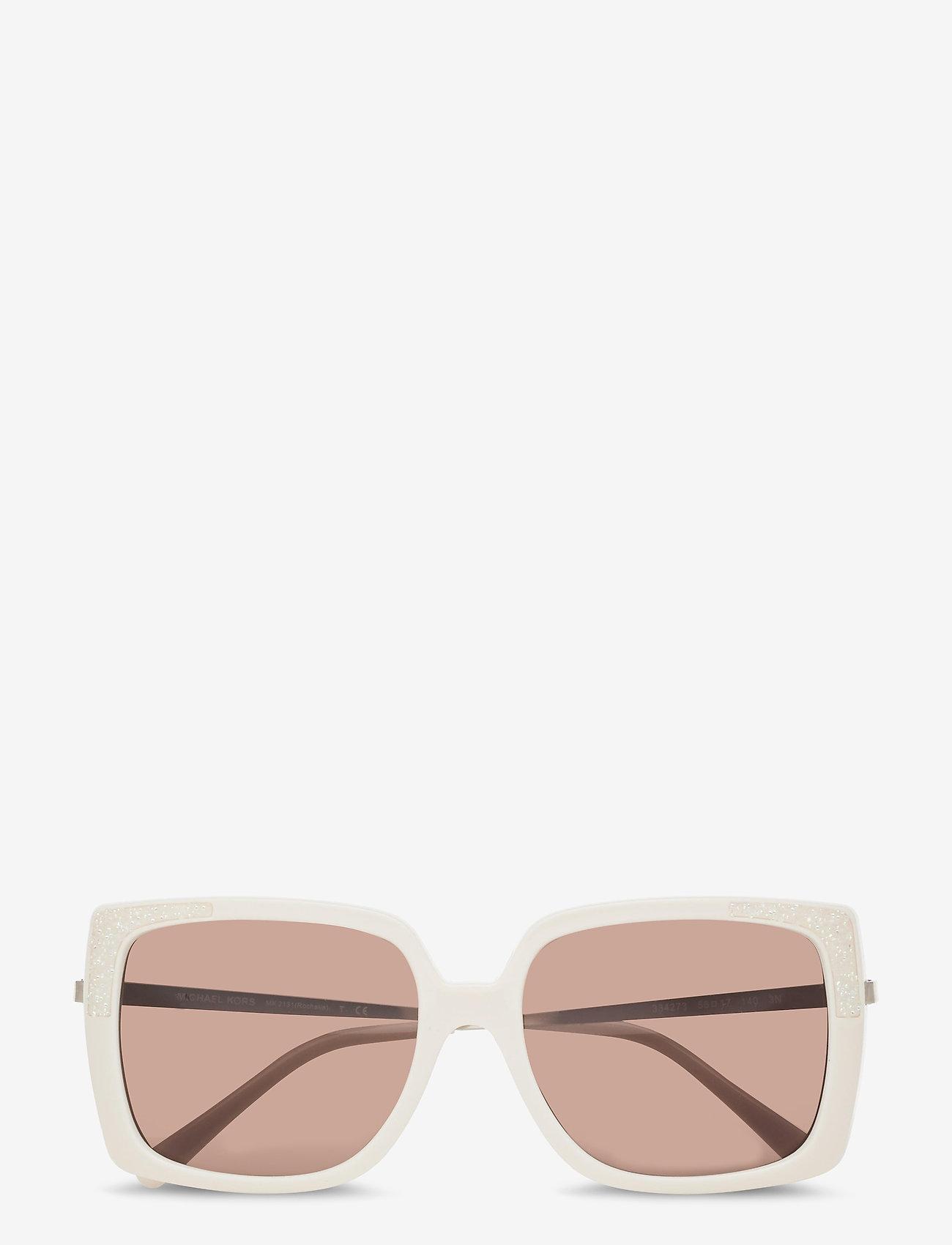 Michael Kors Sunglasses - ROCHELLE - rechthoekig model - brown solid - 0