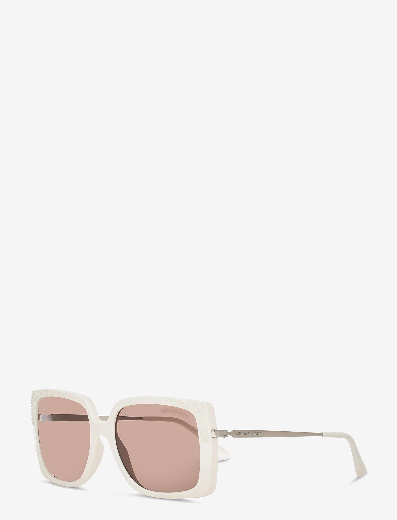 Michael Kors Sunglasses - ROCHELLE - rechthoekig model - brown solid - 1