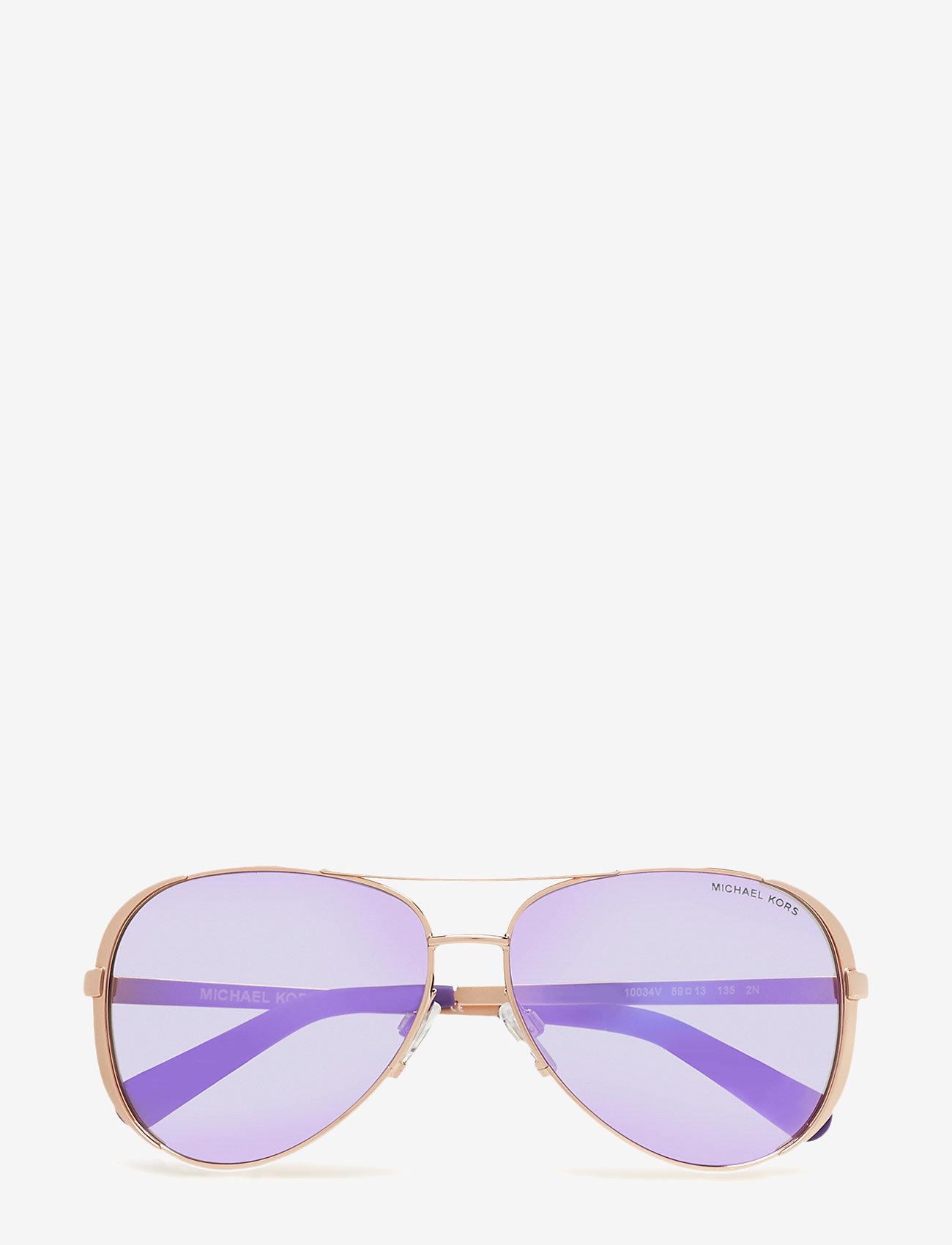 Michael Kors Sunglasses - CHELSEA - pilot - rose gold-tone - 0