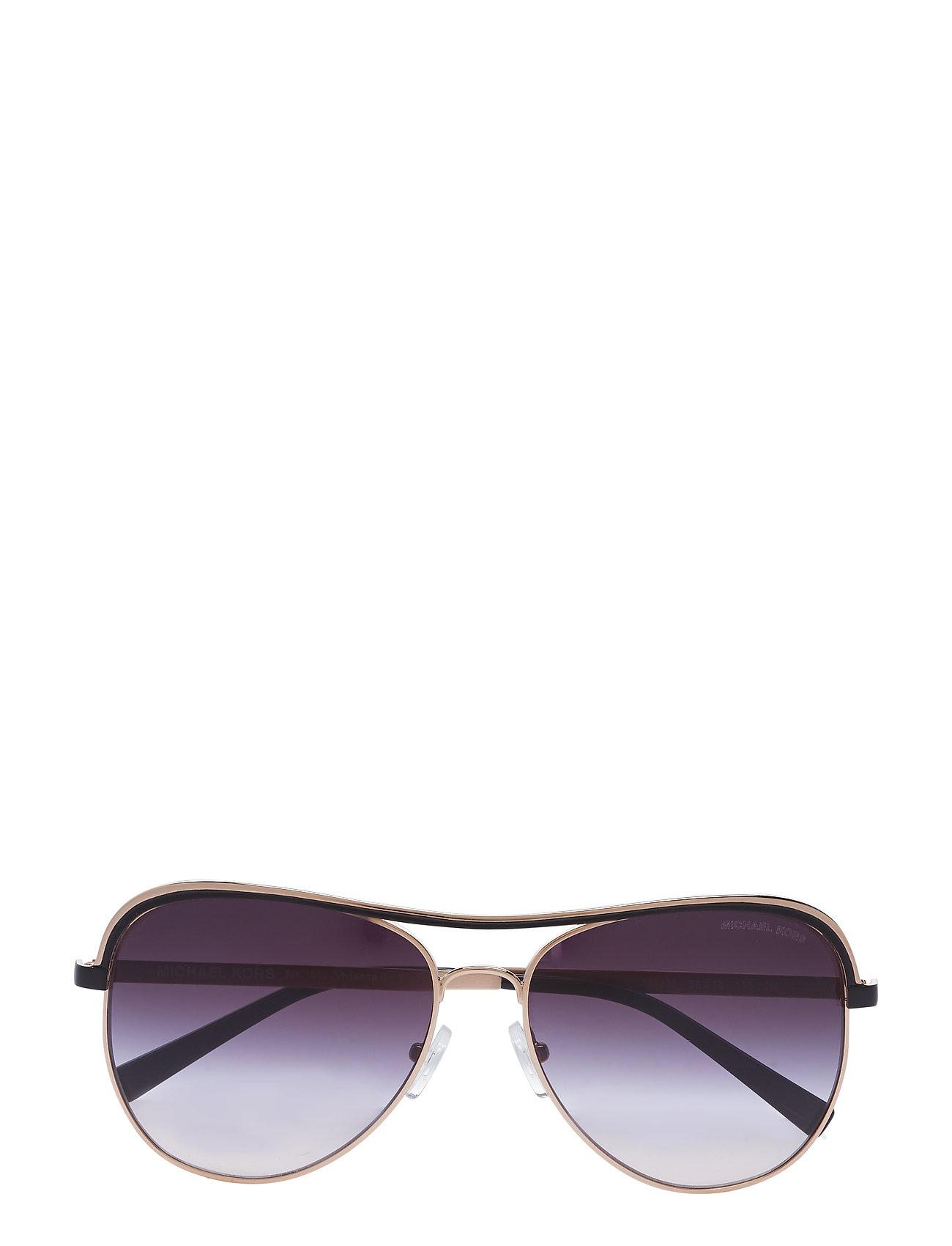 1a31d001e67 ROSE GOLD/BLACK Michael Kors Vivianna I aviator solbriller for dame ...