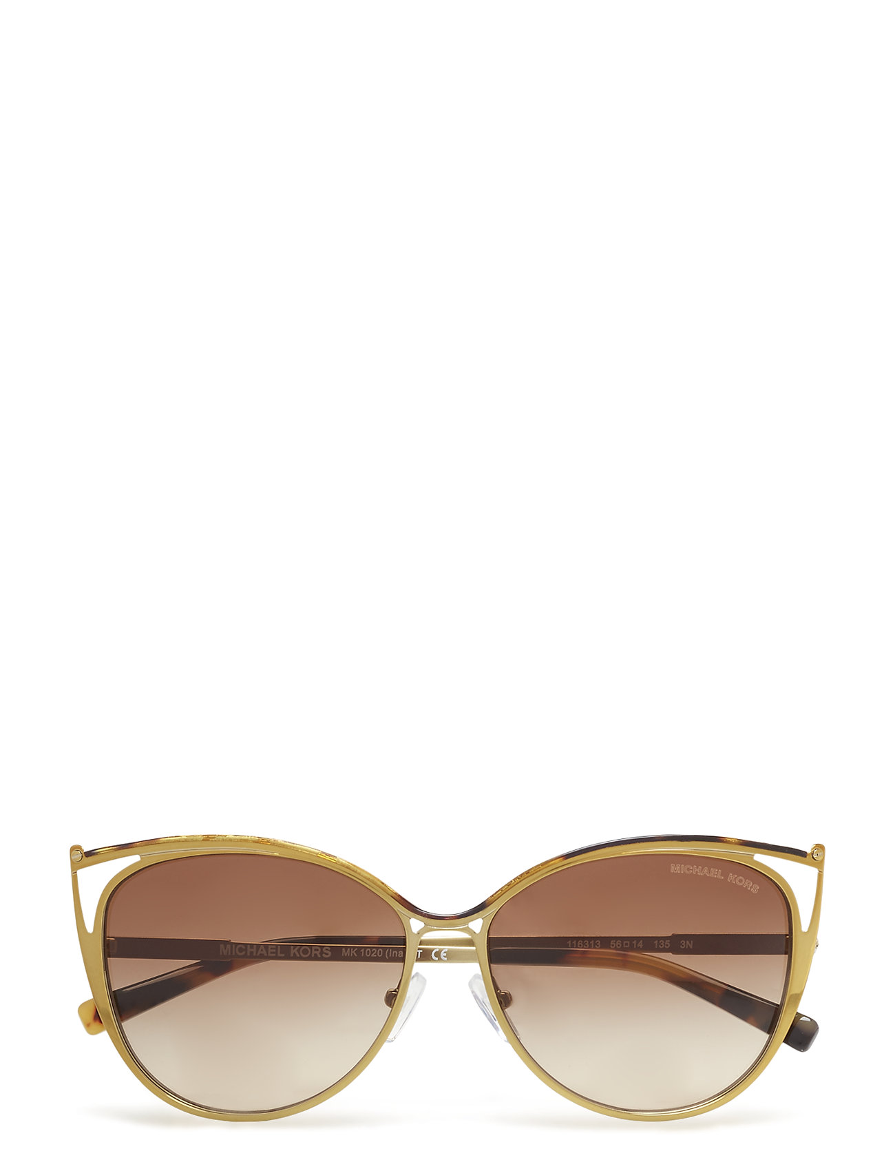 Cat Eye Solbriller Brun Michael Kors Sunglasses