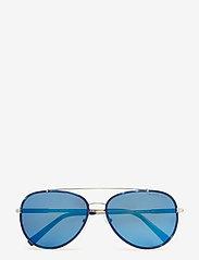 Michael Kors Sunglasses - Aviator - okulary przeciwsłoneczne aviator - navy/silver-tone - 0
