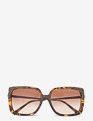 Michael Kors Sunglasses - ROCHELLE - rechthoekig model - brown gradient - 0