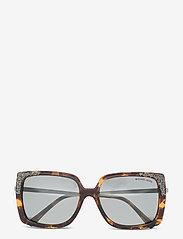 Michael Kors Sunglasses - ROCHELLE - rechthoekig model - grey mirror solid - 0