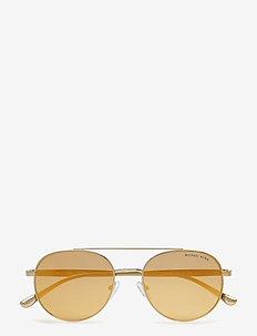 Aviator - okulary przeciwsłoneczne aviator - gold-tone
