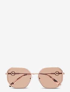 SANTORINI - rechthoekig model - brown pink gradient