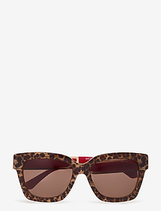 Michael Kors Sunglasses - d-shaped - brown leopard