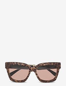 Michael Kors Sunglasses - wayfarer - brown solid