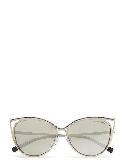 Cat Eye Sonnenbrille Silber MICHAEL KORS SUNGLASSES