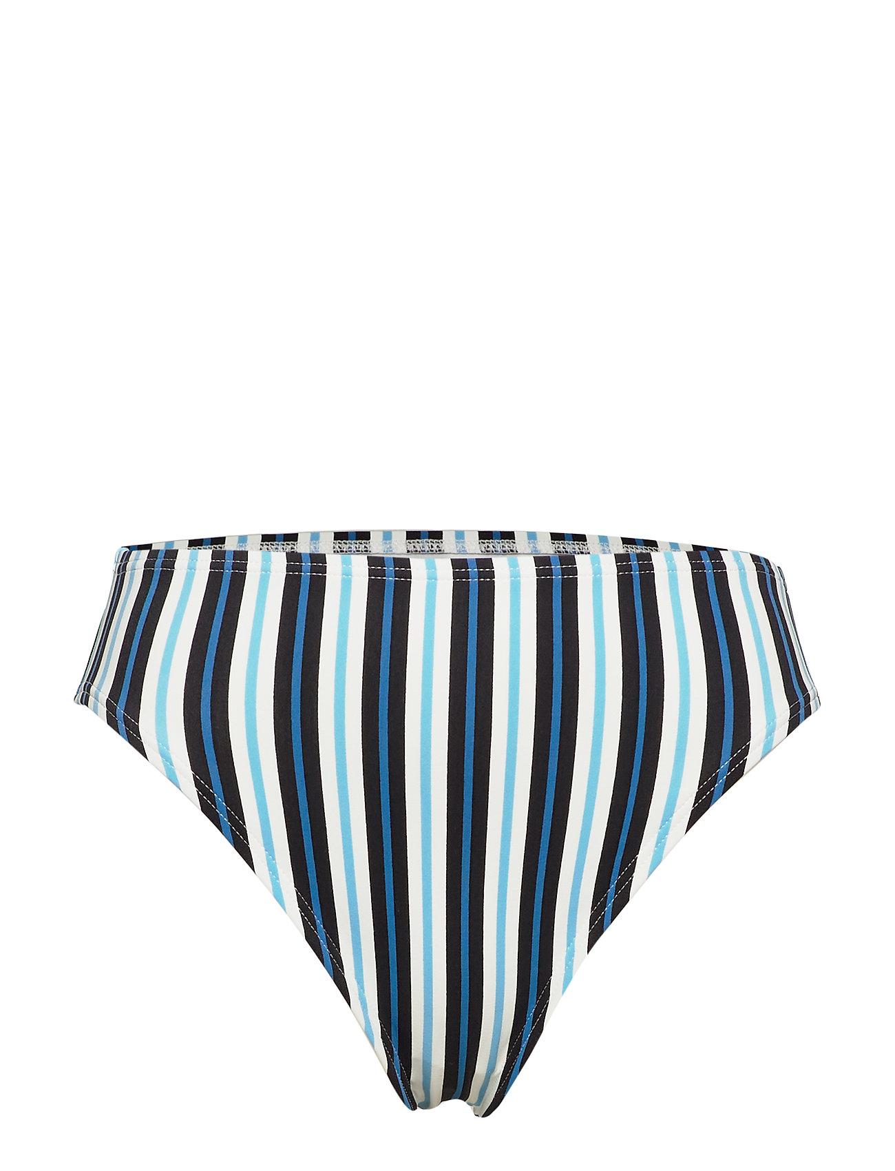 Michael Kors Swimwear HI WAIST BTM - BLACK MULTI