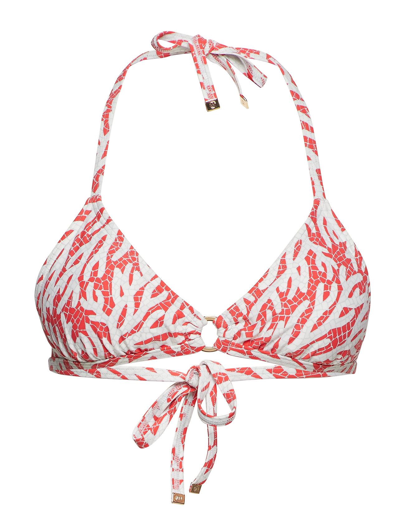Michael Kors Swimwear TRIANGLE TOP - SEA CORAL